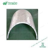 Het marmer Opgepoetste Comité van de Honingraat van het Aluminium van de Steen van de Kleur