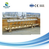 Pressa del filtro a tamburo di separazione di solido liquido di trattamento di acque luride