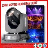La phase Lumière 7R 230W Déplacement de la lumière de la tête de l'événement Afficher