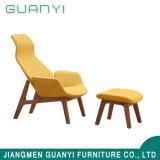 2019 Mobilier moderne en bois Chaise de loisirs avec tabourets