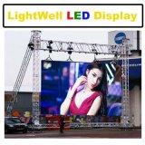 Pantalla LED de la publicité de location P3.91 P4.81 mur vidéo LED de plein air pour le stade géant de fond de l'écran à affichage LED