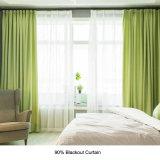 Usine de rideaux vert d'alimentation utilisée pour la vente de l'hôtel