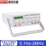 Générateur de fonction 2MHz 0,1 Hz -2MHz générateurs de signaux numériques avec compteur de fréquence haute fréquence du générateur de fonction MFG-3002