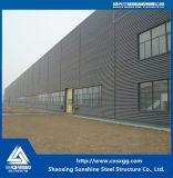 Edificio ligero prefabricado de la estructura de acero con la viga de acero, viga para el almacén