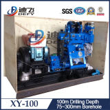 Vertiefungs-Bohrmaschine des Wasser-Xy-100, 60m Minibohrloch-Ölplattform