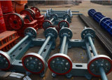Cemento filato vendita calda Palo/mucchio elettrici che fa le macchine dalla Cina