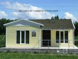 La casa prefabricada ligera de lujo del marco de acero contiene hogares/los chalets prefabricados