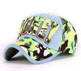 Kundenspezifische Firmenzeichen Camoglage GewebeApplique Embroideried Sport-Schutzkappe, Baseballmütze, Freizeit-Schutzkappe in der verschiedenen Größe, Material und Entwurf