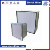 Совершенно ящичный фильтр воздуха HEPA Глубок-Плиссированный фильтром HEPA
