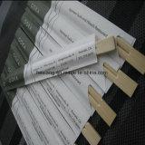 Colher de madeira impressa personalizada de alta qualidade, estaca de bambu, palito de bambu descartável