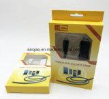 Fluss Licht USB-des aufladendaten-Kabels für Android
