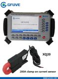 Medidor de Energía fase de ensayo en campo calibrador