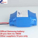 Официальные Samsung аккумуляторная батарея Taotao UL взаимосвязи печатных плат и BS сертифицированных зарядное устройство для аккумулятора электрический Mini два колеса на баланс для скутера
