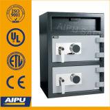 Double porte coffre de dépôt à chargement frontal (FL2820S2-CC)
