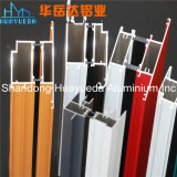 Perfiles de aluminio revestidos del polvo para la ventana de desplazamiento con el aluminio 6063 T5