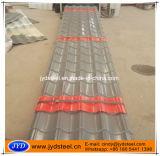 Lamiera di acciaio ondulata delle mattonelle di tetto (RAL3011)