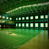 Surface de bonne qualité d'étage de sports pour la cour de badminton avec le prix le meilleur marché