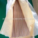Tubo de cobre flexible para el cable eléctrico espolones