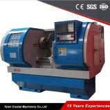 Roues en alliage de machine de découpe CNC de réparation Rim Lathe Awr2840