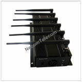 6つのチャネルDesktop Cellphone Signal Jammer WiFi Blocker 3G及び4G Phone Jammer