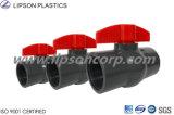 Vávulas de bola plásticas del PVC de las vávulas de bola del precio bajo de la alta calidad