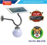 Lámpara ligera solar recargable de las piezas de la decoración LED