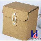 Rectángulos de envío acanalados de Kraft del embalaje de la taza