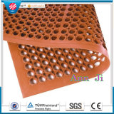 Anti-Slip Antifatigue Hotel Rubber Flooring Mats for Food Service