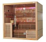 Chauffe-eau canadien à haute qualité en bois de cèdre Harvia Design haut de gamme Sauna House M-6055