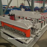 La Russie exportée 1030 tuiles en acier d'opération de toit de couleur formant la machine