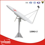 Ku Band 120cm Satellite Dish Antenna