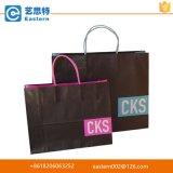 Het winkelen de Boodschappentassen van het Document van Kraftpapier van de Vervaardiging van de Zak