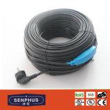 不凍剤の配水管の暖房ケーブル