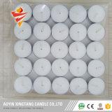 Vela del precio de fábrica 100PCS 8hrs Tealight en bolso polivinílico