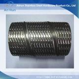 Tubo de filtro de óleo perfurado de aço inoxidável