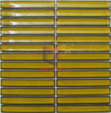 Het gele Ceramische Mozaïek van de Strook voor Eetkamer (CST267)