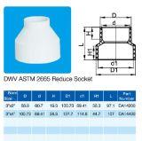 NSF 증명서 ASTM Dwv D2665 흡진기 소켓