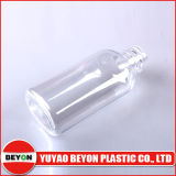 50ml Plastic Pet Oval Transparent Cosmetic Bottle con lo SGS Certification (ZY01-A002A)