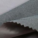 300t polyester Tissu pongés floqué (ZF-ZR011-01)