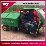 3つの車輪のごみ収集車の/Wasteの処分のトラック