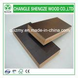 madera contrachapada Shuttering antirresbaladiza de la melamina impermeable de 18m m