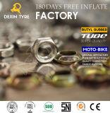 Câmara de ar de borracha natural de grande resistência 3.00-17 de câmara de ar interna da motocicleta