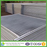 los paneles temporales galvanizados de la cerca de la INMERSIÓN caliente de los 2.1X2.4m