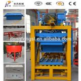 Qt4-25 Flugasche-Kleber-elektrische Ziegelstein-Block-Maschine für Aufbau