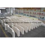 Ladrillos fundidos de Azs del molde hechos de las materias primas de gran pureza