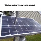 Для использования вне помещений 12W датчик движения Встроенный светодиодный индикатор на улице солнечной энергии