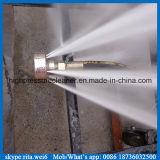 Equipo de alta presión de la limpieza de la alcantarilla de desagüe del producto de limpieza de discos diesel del tubo