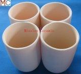 95% crogiolo di ceramica dell'allumina di ceramica delle 99.7% strutture