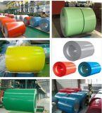 Prepainted стальная катушка (красно, голубо, зелено, бело, совсем популярно