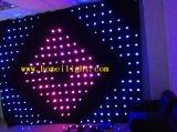 Color RGB3in1, cortina de P18 los 4m*6m de la visión del LED, paño video del LED, contextos de DJ para la boda, etapa